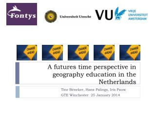A futures time perspective in geography education in the Netherlands