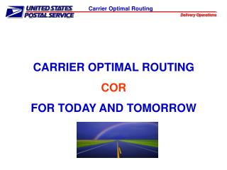 Carrier Optimal Routing