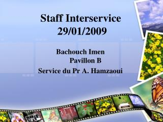 Staff Interservice  29/01/2009