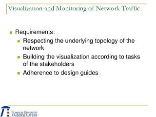 Visualization and Monitoring of Network Traffic