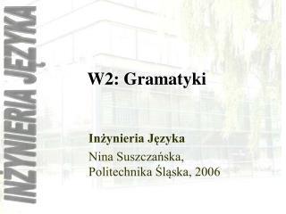 W2: Gramatyki