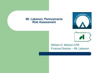Mt. Lebanon, Pennsylvania  Risk Assessment