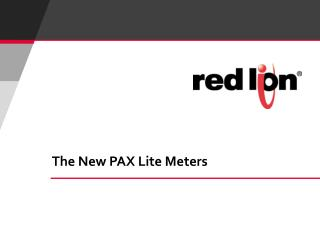 The New PAX Lite Meters