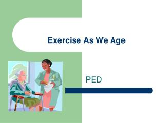 Exercise As We Age