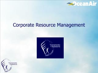 Corporate Resource Management