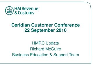 Ceridian Customer Conference 22 September 2010