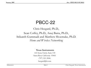 PBCC-22