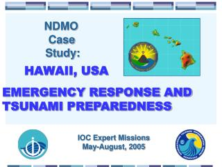IOC Expert Missions May-August, 2005