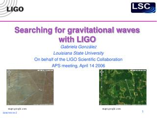 Searching for gravitational waves  with LIGO