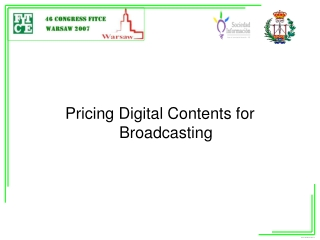 6. Economics of Electronic Media