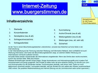 Internet-Zeitung buergerstimmen.de