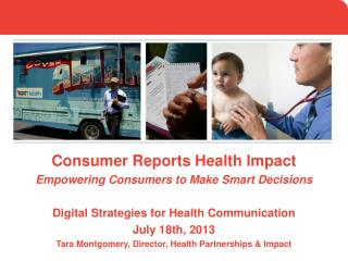 Consumer Reports Health Impact Empowering Consumers to Make Smart Decisions