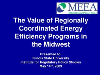 Who is MEEA and what do we do? Why is energy efficiency important?