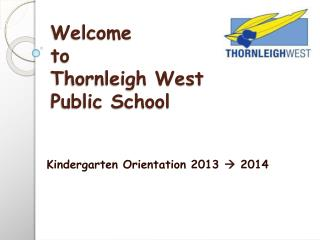 Welcome to Thornleigh West Public School