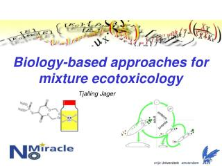 Biology-based approaches for  mixture ecotoxicology