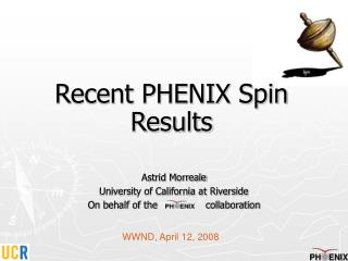 Recent PHENIX Spin Results