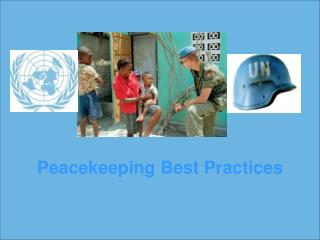Peacekeeping Best Practices