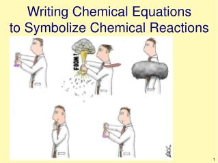 Writing Chemical Equations to Symbolize Chemical Reactions