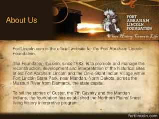 Fort Abraham Lincoln Foundation