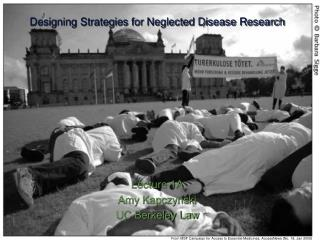 Designing Strategies for Neglected Disease Research