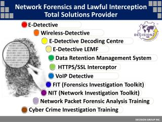 Network Forensics and Lawful Interception Total Solutions Provider