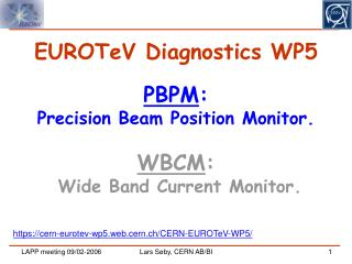 EUROTeV Diagnostics WP5