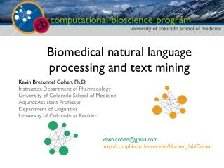 Biomedical natural language processing and text mining
