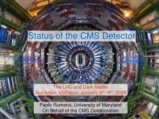 Status of the CMS Detector