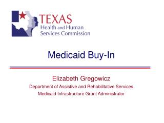 Medicaid Buy-In