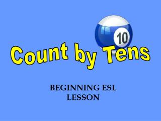 Count by Tens