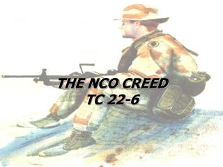 THE NCO CREED TC 22-6