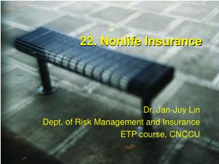 22. Nonlife Insurance