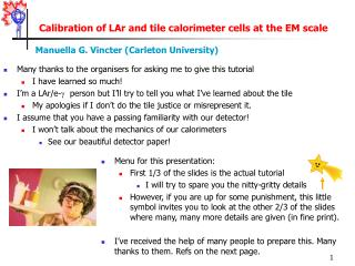 Calibration of LAr and tile calorimeter cells at the EM scale