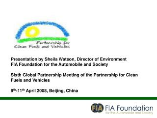 Presentation by Sheila Watson, Director of Environment