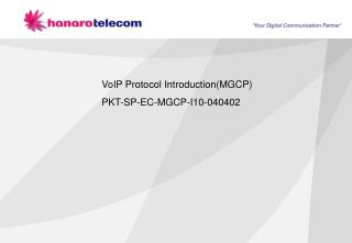 VoIP Protocol Introduction(MGCP)  PKT-SP-EC-MGCP-I10-040402