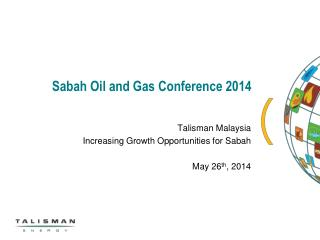 Sabah Oil and Gas Conference 2014