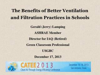 The Benefits of Better Ventilation  and Filtration Practices in Schools