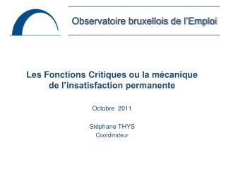 Observatoire bruxellois de l'Emploi