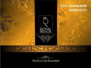M3M New Launch | 9873500516 | Royal Regalia Sector 67