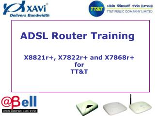 ADSL Router Training