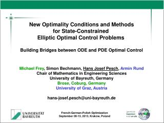 New Optimality Conditions and Methods for State-Constrained  Elliptic Optimal Control Problems