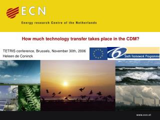 How much technology transfer takes place in the CDM?