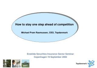 Enskilda Securities Insurance Sector Seminar Copenhagen 19 September 2002