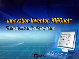 Patent Application in Korea