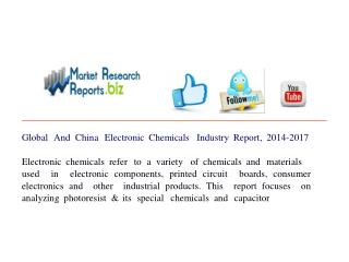 Global And China Electronic Chemicals Industry Report, 2014-