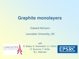 Graphite monolayers