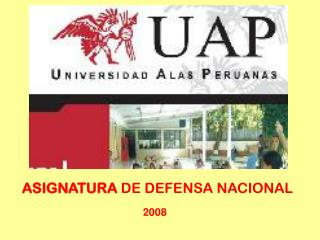 ASIGNATURA  DE DEFENSA NACIONAL