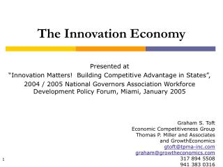 The Innovation Economy