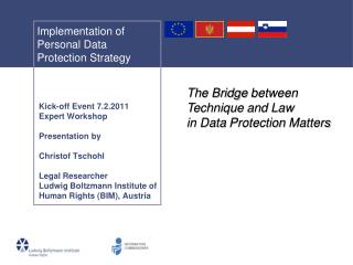 Implementation of Personal Data Protection Strategy