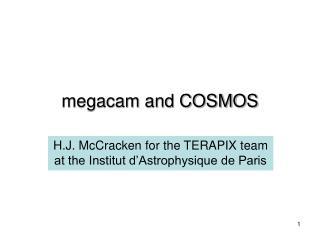 megacam and COSMOS